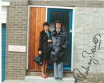Rodney Bewes THE LIKELY LADS - Genuine Signed Autograph 10x8 COA 10196